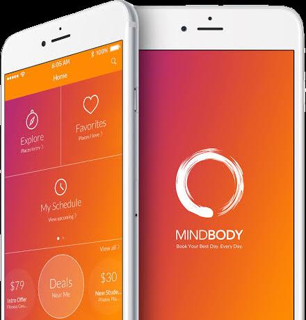 MindBody Mobile App
